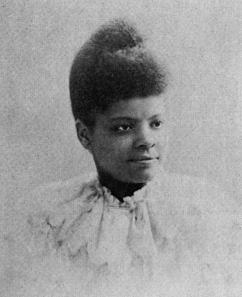 Picture of Ida B Wells resilient African American woman